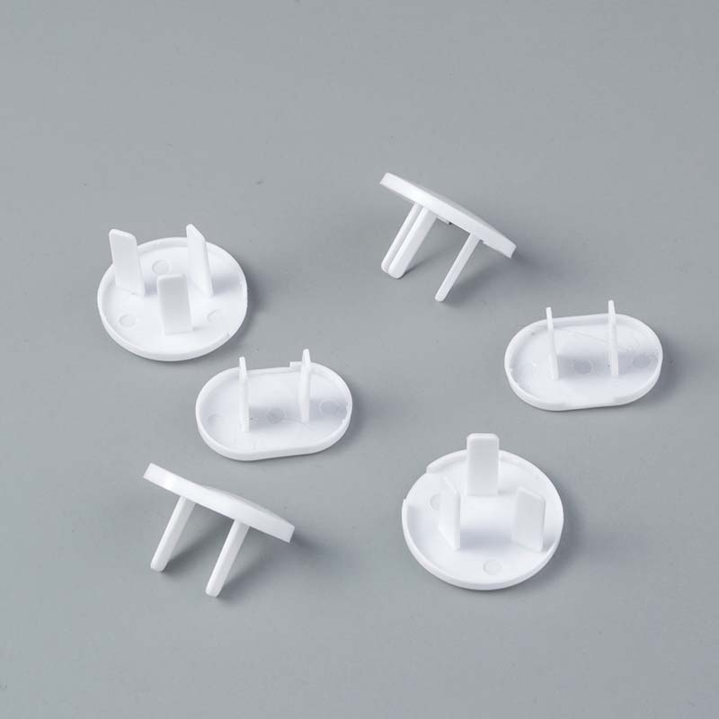 6PCs Anti Electric Shock Plugs Protector Cover Cap Shape Power Socket Accessories Electrical Outlet Safety Guard Protection
