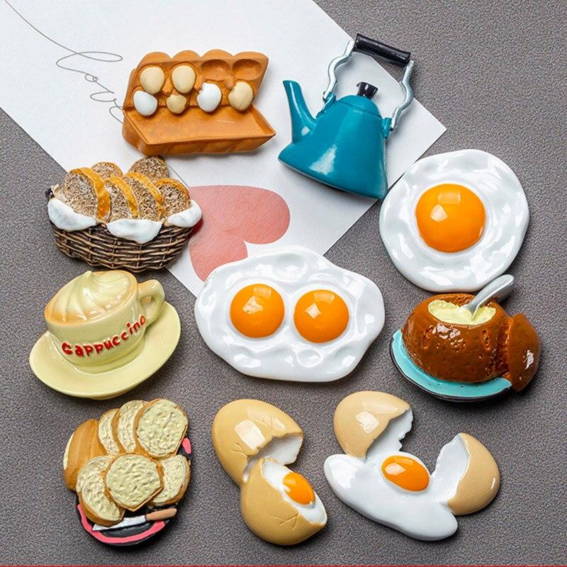 Бионическая еда магнит на холодильник 3d креативная симуляция еда милый холодильник магнитные наклейки фото магнитная наклейка украшение подарок|Магниты на холодильник|   | АлиЭкспресс - Прикольные магниты на холодильник