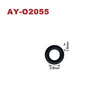 Darmowa wysyłka 20 sztuk-100 sztuk hurtownie wtryskiwacz paliwa gumy Oring 3 8*1 6mm (AY-O2055) tanie tanio ayounes fkm rubber black wenzhou china