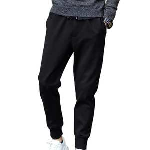 Long-Pencil-Pants Drawstring Sports Men Casual Tied-Pockets Fitness The Waist Waist-Perfect-Gifts