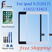 Brand New 2017 A1822 A1823 Touch Screen For iPad 5th Outer Panel Front Glass  iPad 9.7Touch Screen Digitizer Front Outer Panel G new touch screen glass panel r8070 45b