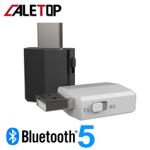 CALETOP USB Bluetooth 5.0 Adapter Transmitter TV Receiver 3
