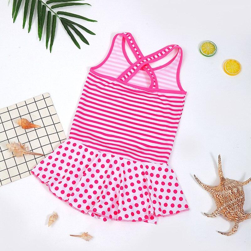 2019 New Style KID'S Swimwear Girls Korean-style One-piece Swimming Suit CHILDREN'S Swimsuit Students Swimwear