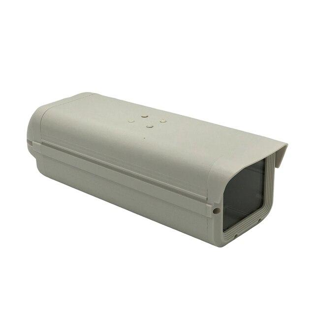كاميرا دائرة تليفزيونية مغلقة داخلية غلاف الأمن المراقبة الضميمة الإسكان الألومنيوم ABS رمادي حماية الغرفة
