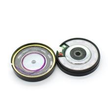 40 มม.32 OHM BASSหูฟังไดร์เวอร์ 40 มม.PatternlessไดอะแฟรมลำโพงSuper BASS HIFIลำโพง 113dB/W