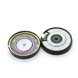 Alto-falante de headphone 40mm 32 ohm, diafragma sem padrão hifi alto-falante super graves 40mm 113db/w