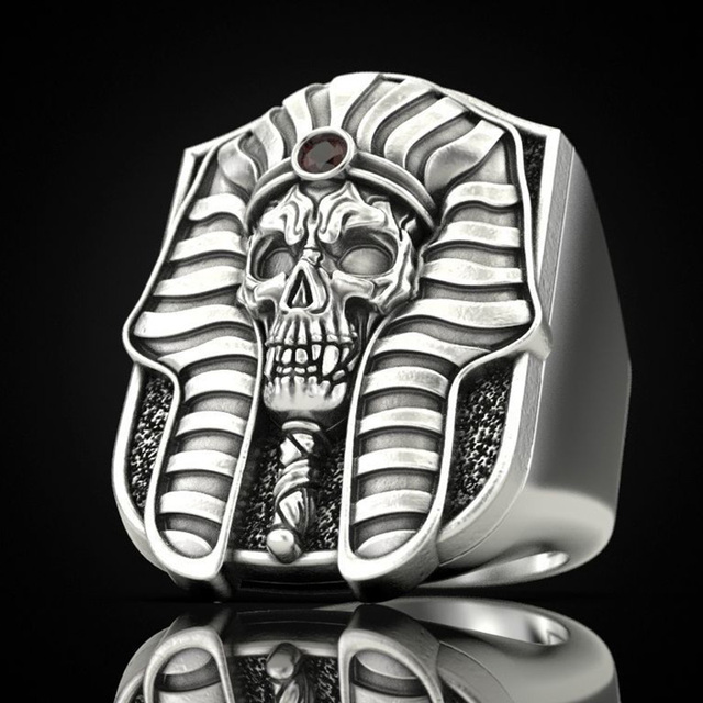 PHARAOHS OF EGYPT SKULL RINGS