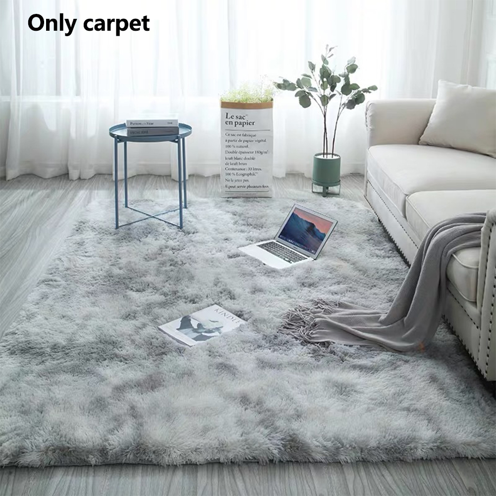 Super Soft Modern Bedroom Area Rug Floor Carpet Living Room Hotel Mats Rectangle Fluffy Decorative Easy Clean Home Anti Slip