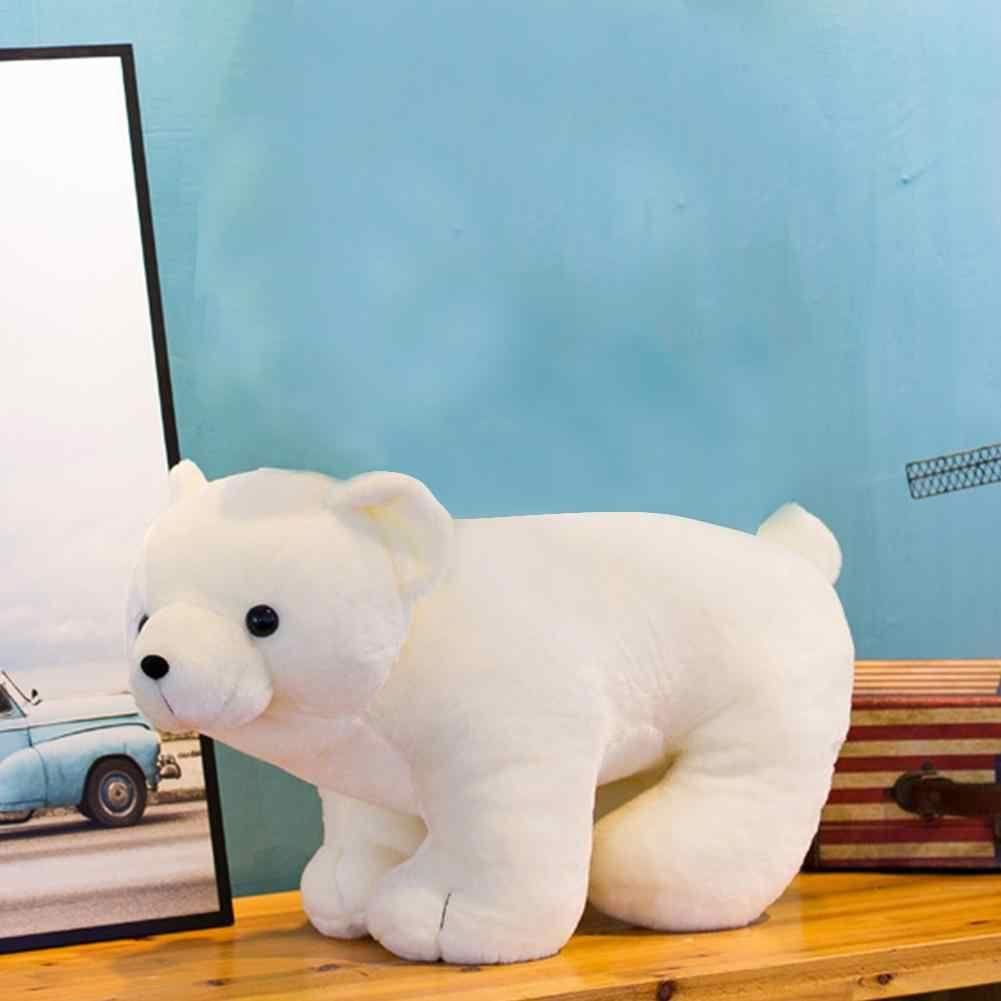 เหมือนจริงหมี PANDA Plush ตุ๊กตาตุ๊กตาโซฟาหน้าแรก Decor เด็กของเล่นคริสต์มาสของขวัญ Soft Plush ของเล่นเด็กสาวใหม่ปี