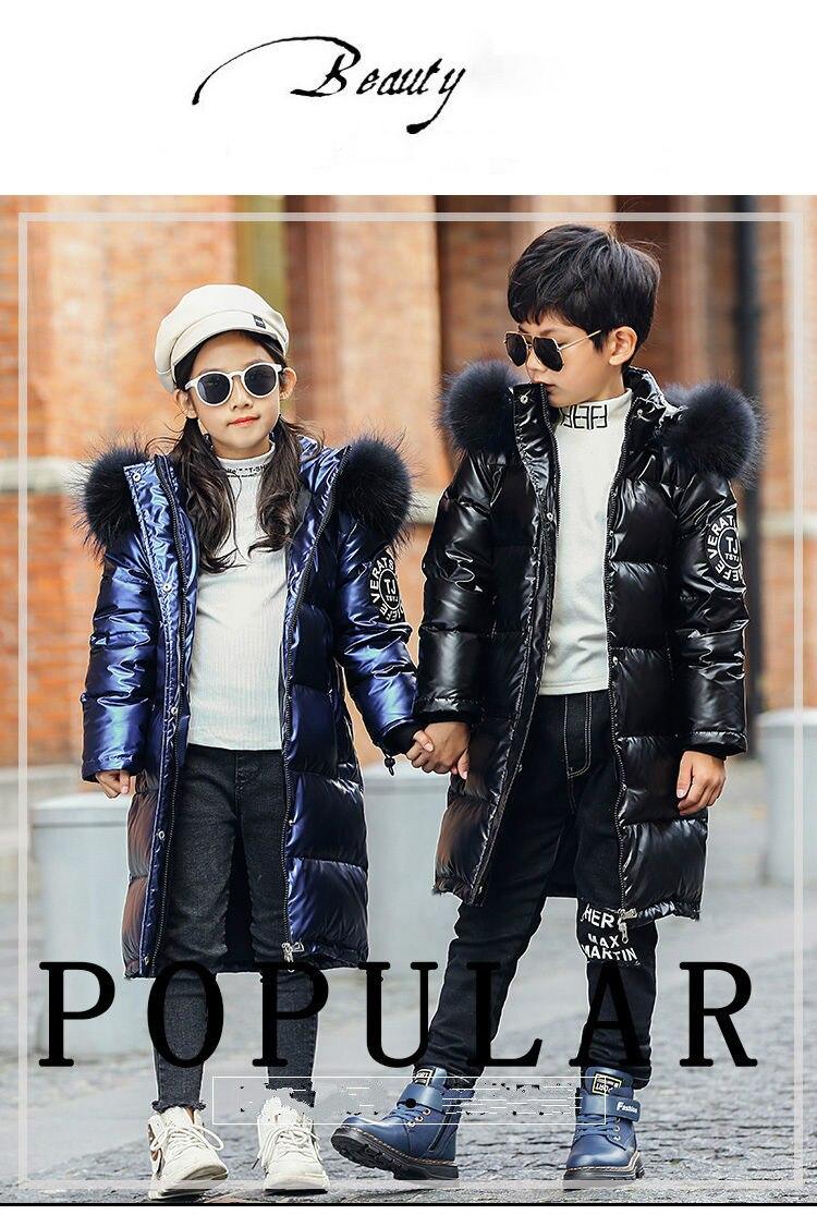 casacos grossos inverno das crianças à prova