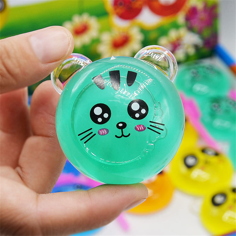 3 Piece Colorful Animal Slime Clay DIY Animal Crystal Clay Kids Toy Polymer Modeling Clay Plasticine Mud Playdough Toys Gifts