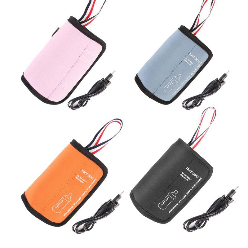 1 шт. USB Электрический нагреватель для бутылок портативный подогреватель чашки молока путешествия нагреватель младенческой сумка для детск...
