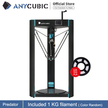 Anycubic Predator 3D Printer Grootste Katrol 370X370X455Mm Auto Leveling Grote Metalen 3D Printer Diy Kit impresora 3d