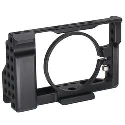Top Rx100 Iii(M3) Iv(M4) V(M5) Camera Cage For Sony Rx100 Iii(M3) Iv(M4) V(M5) Dslr Camera Case Camera Rig Cold Shoe