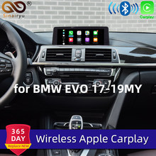 Sinairyu WIFI inalámbrico de Apple Carplay para BMW EVO Android espejo de coche jugar 1 2 3 4 5 7 Serie X3 X4 X5 X6 MINI F20 F30 G30 F25 F15(China)
