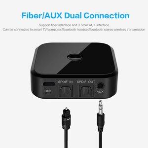 Image 1 - Bluetooth 5.0 hdオーディオ送信機は、 3.5 ミリメートルaux spdifデジタルテレビワイヤレスアダプタ