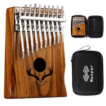 Muspor Kalimba Thumb Piano 20 Keys High-Quality Acacia Double Layer Mbira With Case Musical Instrument