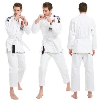 Brasileño Kimono de Jiu Jitsu artes marciales MMA hombres y mujeres formación profesional Jiu-Jitsu Kimonos BJJ GI Guerrero adulto Classic