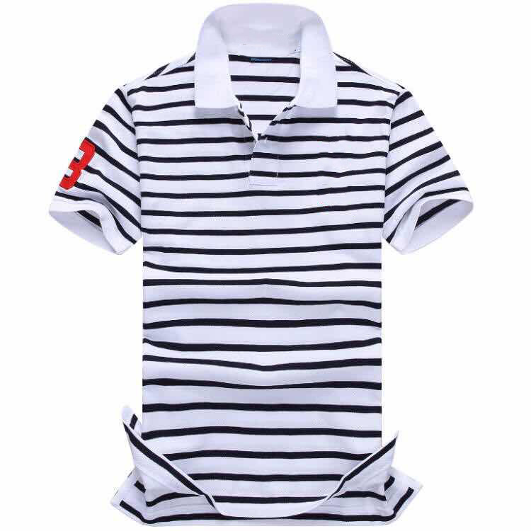 Hombre Top Men Small Big Pony Short Sleeve Casual Polo Shirt Camisa Embroidered 100%cotton Polo Shirts Homme Masculine
