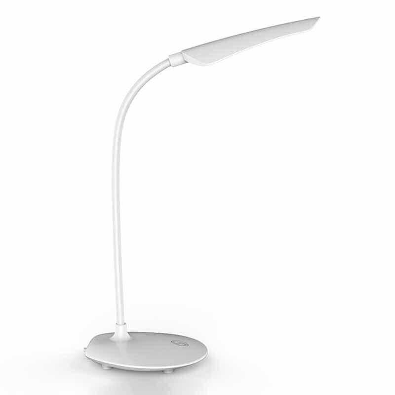 Işıklar ve Aydınlatma'ten Sıra Lambaları'de ABUI 16 Led sensörü basın anahtarı Usb şarj 3 dişliler masa lambası göz koruması 5W masa lambası çocuk odası için okuma title=