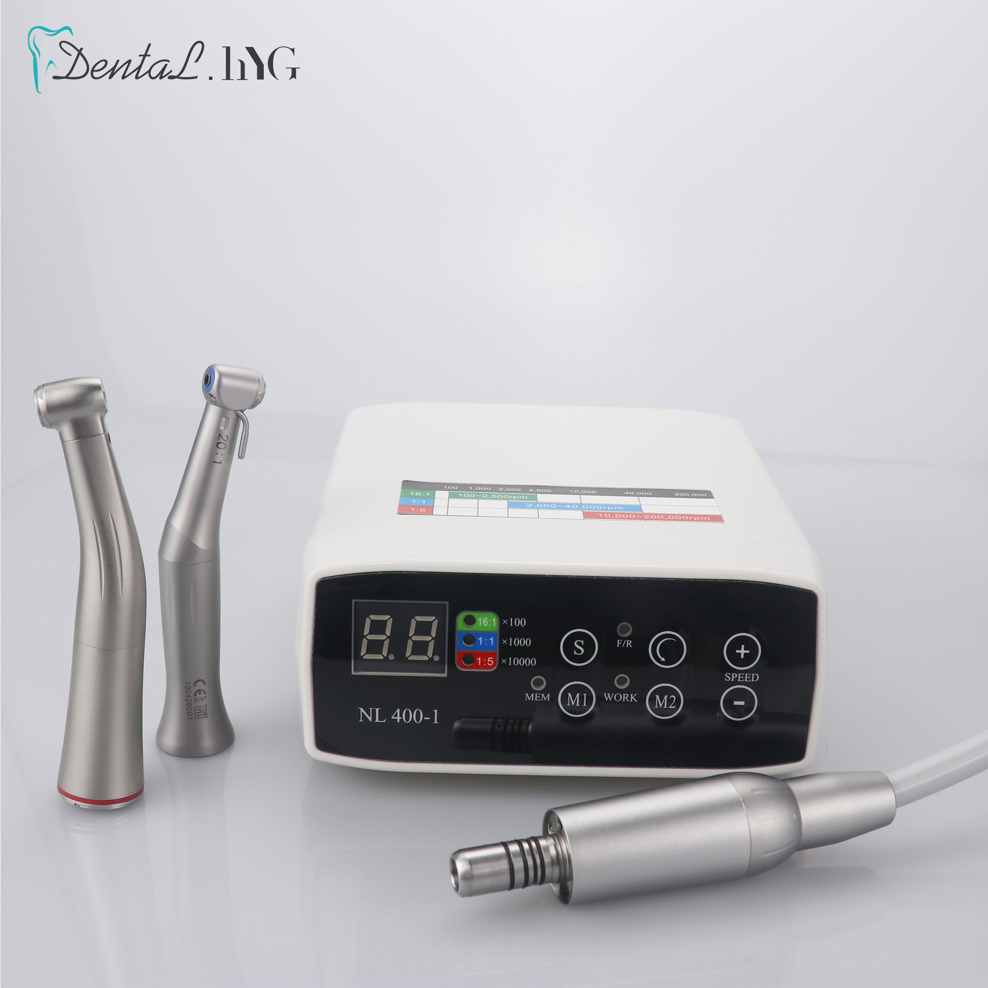 Dental Brushless LED Electric Micro Motor 1:1/1:5/16:1 Increasing Handpiece NEW