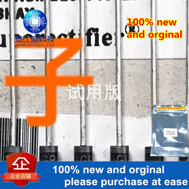 25-50pcs 100% New And Orginal BYD33DGP 1A200V DO-41silk-screen 33DGP  In Stock