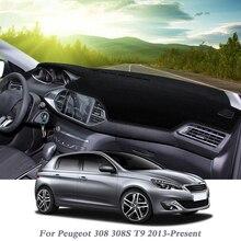 Mat Peugeot Platform-Cover Dashboard RHD Pad-Instrument Avoid-Light LHD Rose T9 308S