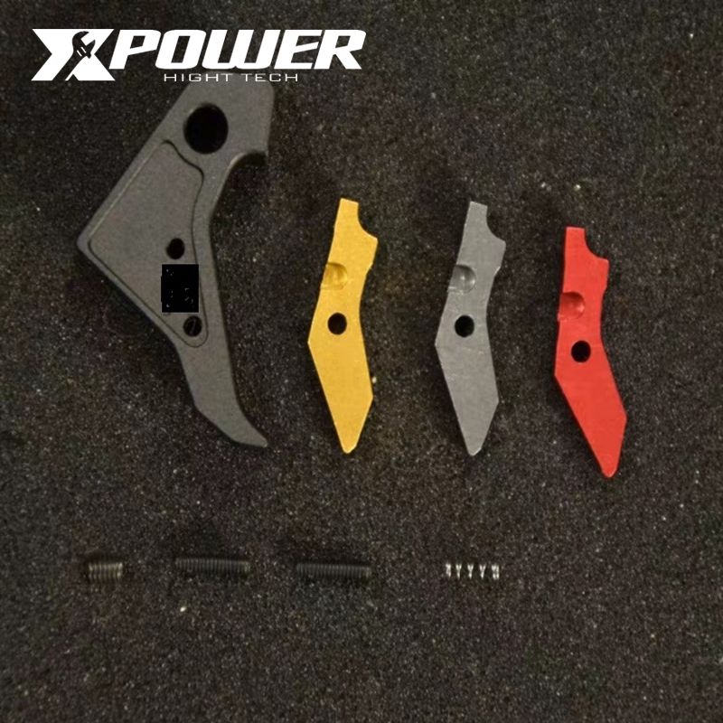 XPOWER P1 Metal Outer Trigger Fit TM Systerm Kublai  Unicorn Industries Special Appearance Modification CNC Cutting
