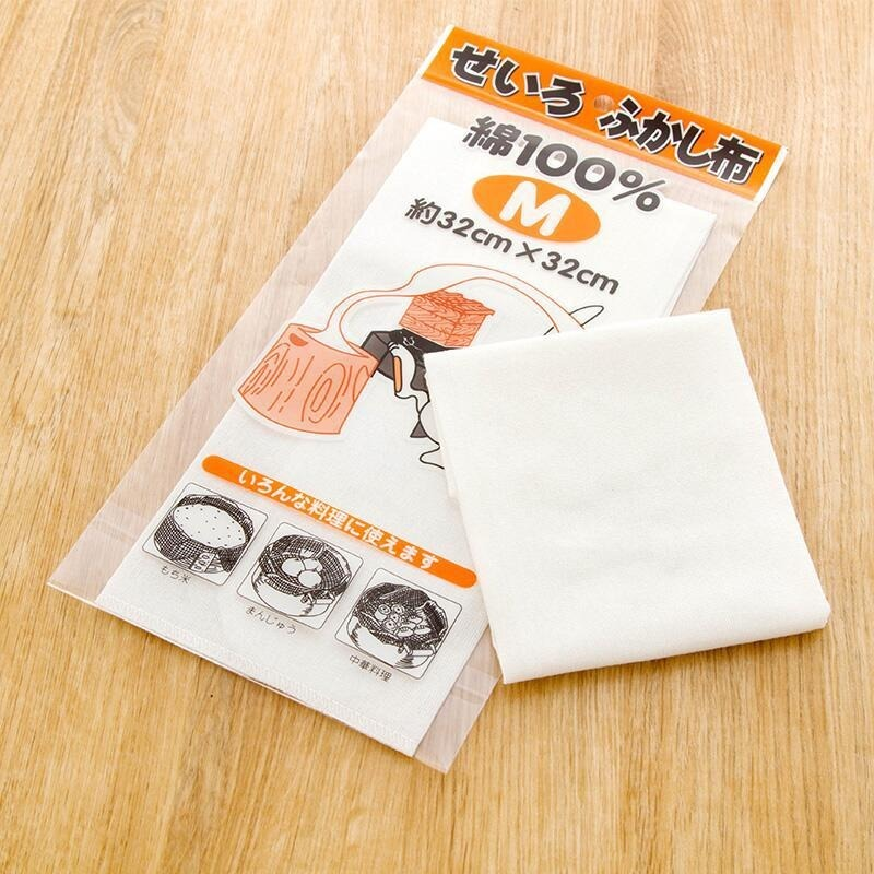 10PCs/set Reusable Natural Pure Cotton Steamer Cloth Gauze Drawer Steamer Mat Stuffed Buns Steamed Bread Steamer Kitchen Steamer