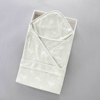 Newborns Baby Blanket Swaddle Sack Cotton Envelope For Newborns Baby Towel Bath Printed Spring Summer Swaddle Wrap 90*90Cm