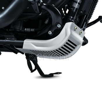 For Harley Sportster XL1200X Forty Eight 2010 to 2020 XL1200XS 2018 2019 Custom 1200 XL1200C Motorcycle Skid Plate Front Spoiler