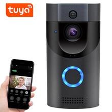 QZT Tuya Doorbell WiFi Smart Home IP Wireless Video Intercom Door Bell Door Peephole Camera Outdoor Wireless Video Eye Doorbell