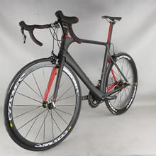 Wysokość ModulusToray T700 Aero szosowe z włókna węglowego kompletny rower FM268 z SHIMAN00 R7000 groupset 22 prędkości tanie tanio SERAPH Unisex Rower szosowy 22speed 150-190cm 8 4kg V hamulca hamulec tarczowy 0 1 m3 Gumowy odporność (medium biegów bez tłumienia)