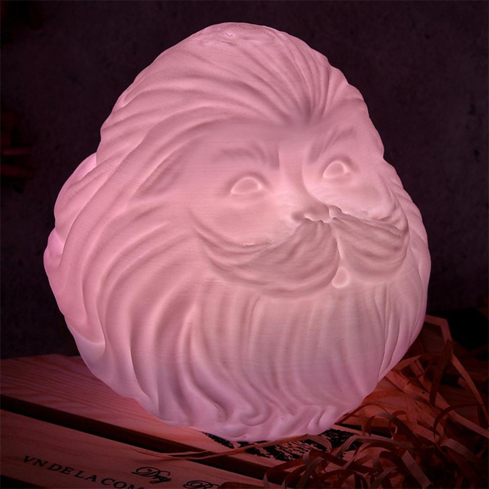 Exquisite Printing Moon Light Led TypeA Moon Light Led Charging 3d Printed Moon Light TypeA Bearded Old Man