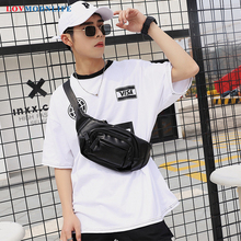 2019 Fashion Mens Waist Bag Black Designers Fanny Packs Men Money Pouch Belt Phone Leather Hip Pack Man Casual Banana Bags