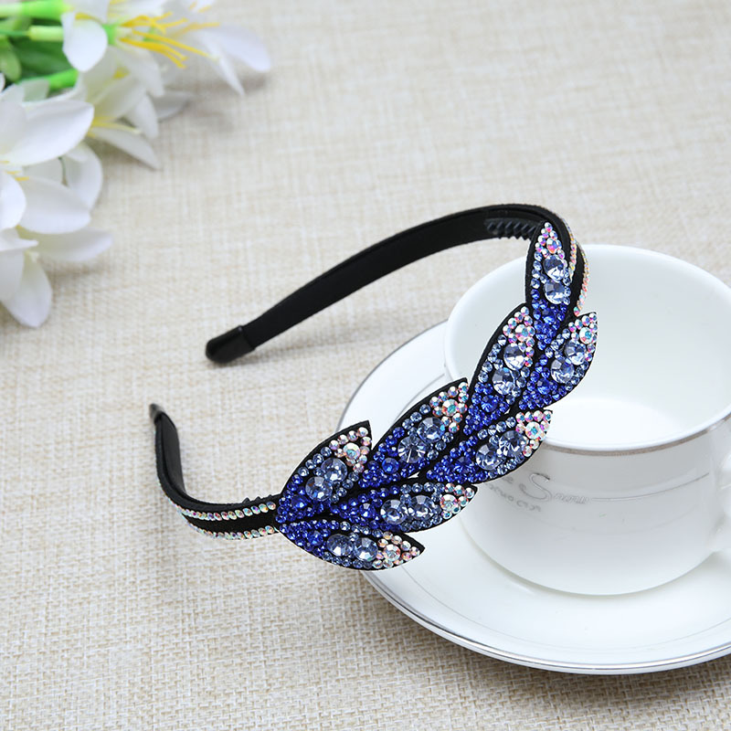 Moda coreana jóias faixa de cabelo brilhante
