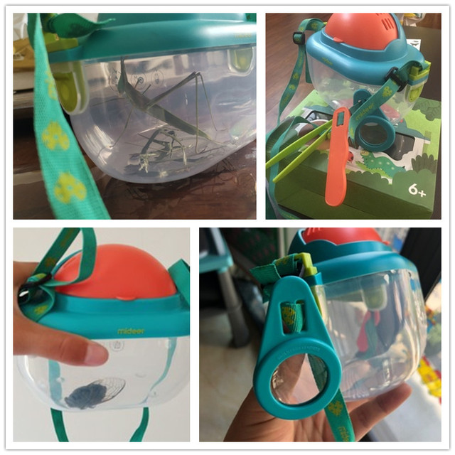 MiDeer-Transparent-Insect-Plastic-Box-Reptile-Incubator-Child-Insect-Observation-Box-Biological-Experiment-Magnifier