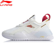Li-ning mulher 001 t2000 estilo de vida à moda sapatos forro wearable li ning retro fitness sapatos esportivos tênis aglq002