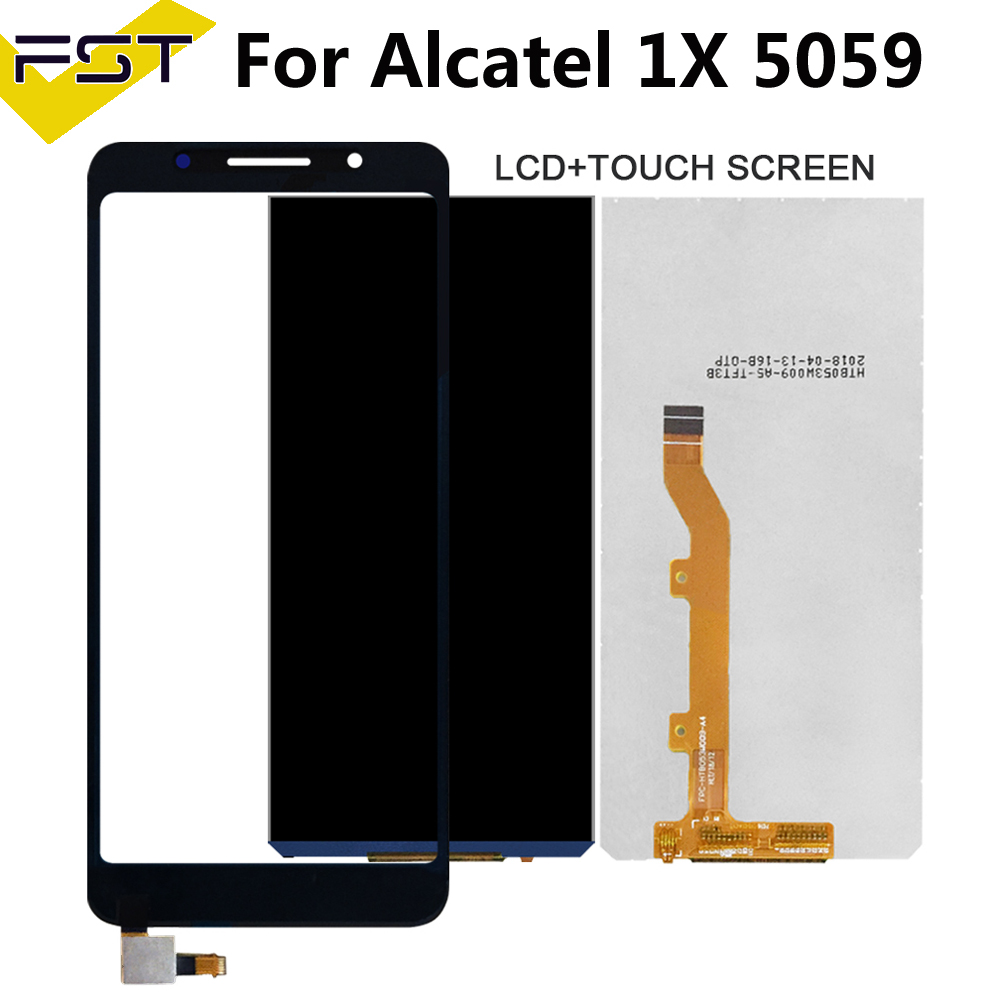 5.3''For Alcatel 1X LCD Display+Touch Screen Digitizer For 5059 5059A 5059D 5059I 5059J 5059T 5059X 5059Y
