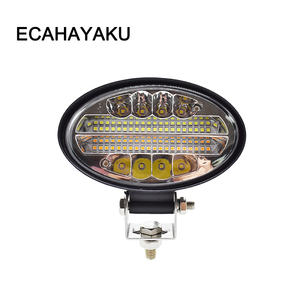 ECAHAYAKU 144W Offroad LED Work Light Bar Amber 5.5 inch Led Fog light For Off road 4x4 4WD SUV ATV Tractor Truck Driving Lamp