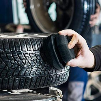 Ułatwia szczegóły typ fali bandaż narzędzia sześciokątne Grip aplikator 8 11 Cm ręcznie opon wosk gąbki gąbki szczotki tanie i dobre opinie CN (pochodzenie) 11cm sponge 0 03kg car detailing cleaning 0 01cm Car waxing sponge 8 (mm) tire leather 1* car waxing sponge