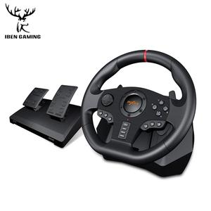 Image 2 - Gaming Steering Wheel Pedal PXN V900 Gamepad Racing Game Steering Wheel Pedal Vibration For PC/PS3/4/Xbox One/Xbox /Switch 90°