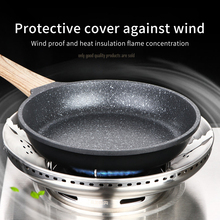 Bracket Stainless Steel Windproof  Kitchen Multi-function Gas Stove Cover