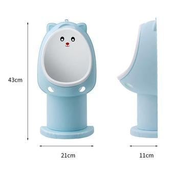 2 Colors Split Type Children's Toilet Portable Baby Potty Training Urinal Boys Girls Training Toilet For Toddler 1