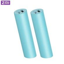 ZMI Mini batterie externe 3000mAh 18650 batterie Rechargeable externe Mini Powerbank portable charge pour téléphone