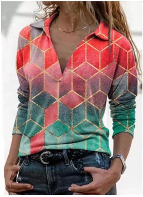Aprmhisy Graphic Shirts Women Autumn New Long Sleeve Casual Streetwear Blouse Shirt Blusas Femininas 12
