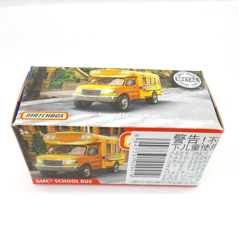 2019 Matchbox Cars 1:64 Car GMC SCHOOL BUS Metal Diecast Alloy Model Car Toy Vehicles