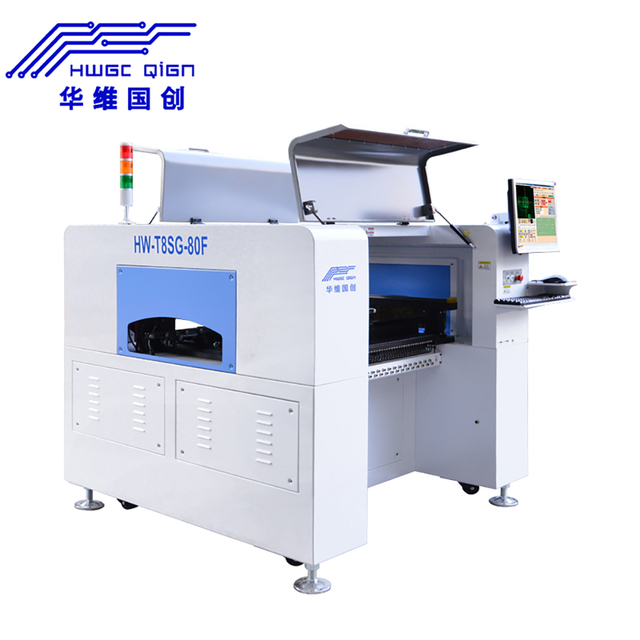 Machine de sélection et de Place SMT à 8 buses, pour assemblage de PCB et ligne de Production LED