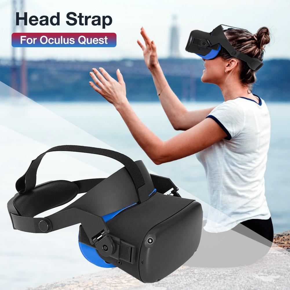 Headband Head Strap For Oculus Quest VR Gaming Headset Strap For Oculus Quest Cushion Headband Fixing Accessories