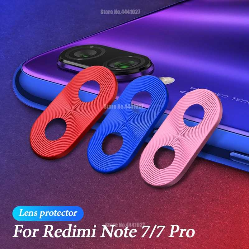 Camera Lens Protector Plating Metal Ring For Xiaomi Redmi 7 Note 7 8 7 Pro Camera Protective Cover For Xiaomi Redmi Note 8 7 Pro